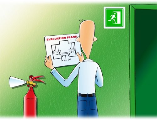 Where Do Evacuation Diagrams Need to be Placed?